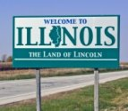 50-states-facts-IL; illinois welcome sign