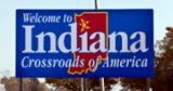 50-states-facts-IN; indiana welcome sign