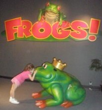 rv-road-trips-02; girl kissing giant frog