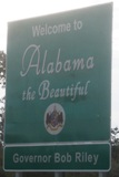 50-states-facts-01; alabama welcome sign