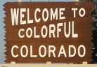 50-states-facts-CO; colorado welcome sign