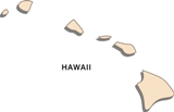 50-states-facts-HI; hawaii state outline