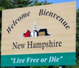 50-states-facts-NH; new hampshire welcome sign