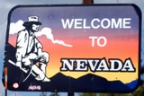 50-states-facts-NV; nevada welcome sign