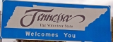 50-states-facts-TN; tennessee welcome sign