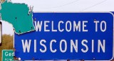 50-states-facts-WI; wisconsin welcome sign