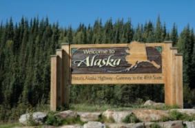 alaska-taxes-01; welcome to alaska sign