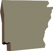 arkansas-state-taxes-03; blackline map of arkansas