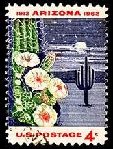 fun-facts-about-arizona-02; state stamp