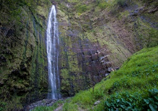 hawaii-national-parks-01; haleakala waterfall