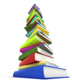homeschooling-facts-02; stack of homeschooling books