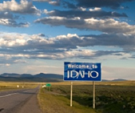 idaho-tourist-information-01; idaho sign