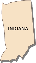 indiana-state-taxes-03; blackline map of indiana