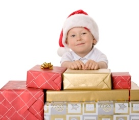 indiana-tourist-attraction-01; child with christmas presents
