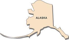 interesting-facts-about-alaska-01; state outline