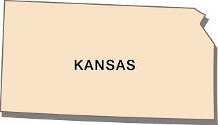 interesting-facts-about-kansas-01; outline of state