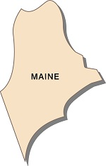 maine-fun-facts-01; state outline