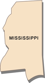 mississippi-state-taxes-03; blackline map of mississippi