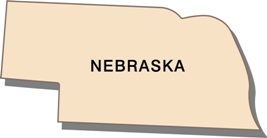 nebraska-state-taxes-03; blackline map of nebraska