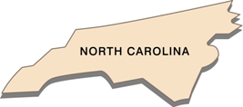north-carolina-state-taxes-03; blackline map of north carolina
