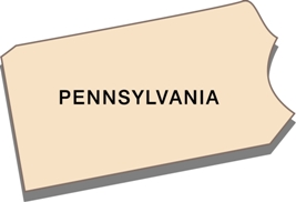 pennsylvania-state-taxes-03; blackline map of pennsylvania