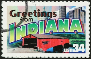 places-to-visit-in-indiana-01; indiana postage stamp