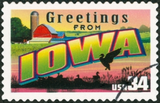 places-to-visit-in-iowa-01; iowa postage stamp