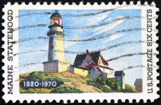 places-to-visit-in-maine-01; maine postage stamp