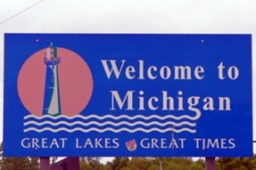state-of-michigan-taxes-01;michigan welcome sign