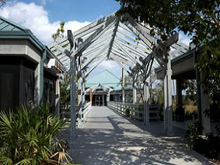 state-parks-in-florida-02; Picture of entrance to Everglades National Park
