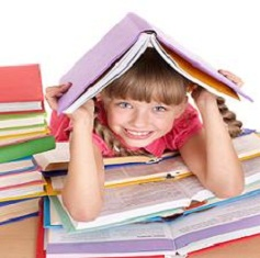 unit-studies-for-homeschooling-01; girl with books