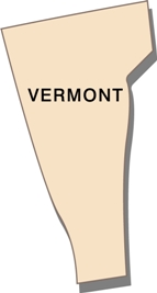 vermont-state-taxes-03; blackline map of vermont