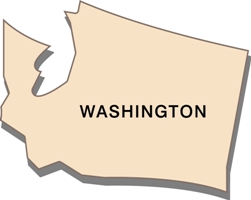 washington-state-taxes-03; blackline map of washington state