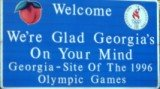 50-states-facts-GA; georgia welcome sign