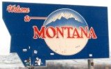 50-states-facts-MT; montana welcome sign