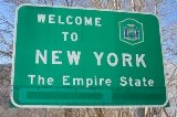 50-states-facts-NY; new york welcome sign