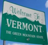50-states-facts-VT; vermont welcome sign
