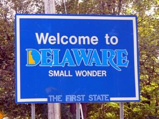 delaware-state-taxes-01; delaware state welcome sign