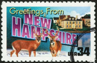 family-vacations-in-new-hampshire-01; new hampshire postage stamp