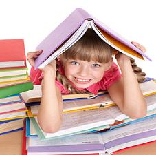 get-started-on-homeschooling-01; little girl with books