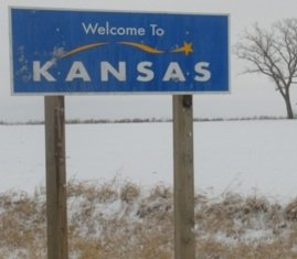 interesting-facts-about-kansas-02; state sign
