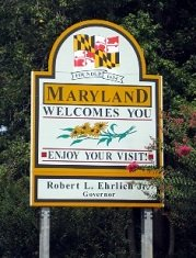 interesting-facts-about-maryland-02; state sign