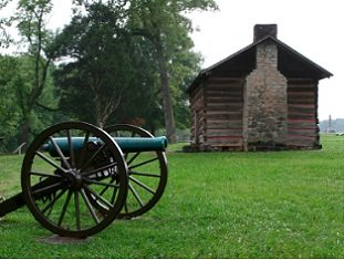 louisiana-tourist-attractions-02;old house and canon