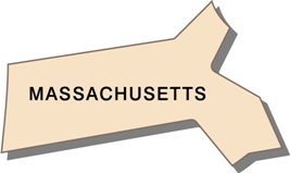 massachusetts-state-taxes-03; blackline map of massachusetts