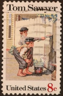 tourist-attraction-in-connecticut-03; mark twain tom sawyer postage stamp