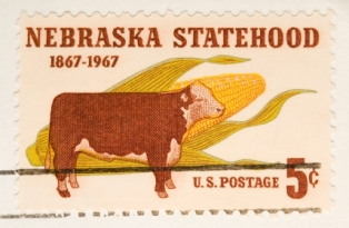 interesting-facts-about-nebraska; state stamp