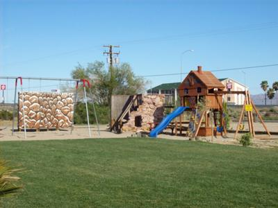 Playground at Barstow KOA