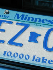 minnesota-fun-facts; license plate