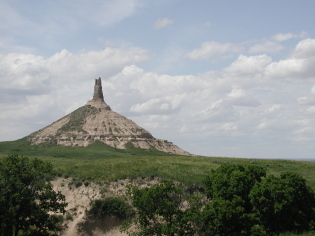 nebraska-state-parks; Chimney Rock