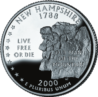 new hampshire-treasure-hunting; new hampshire coin